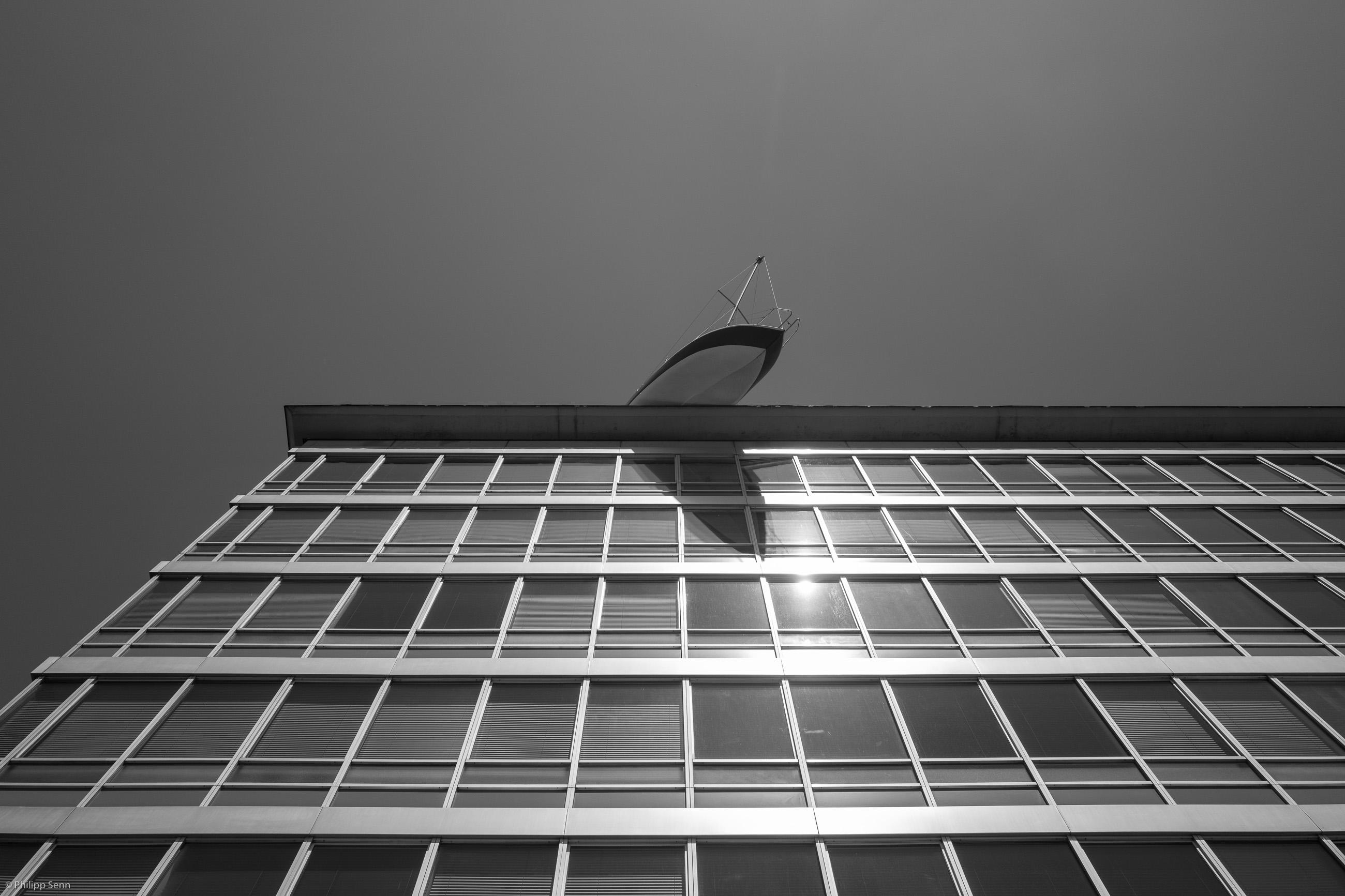 © Philipp Senn. Wien. Segeltörn wäre nun himmlisch.