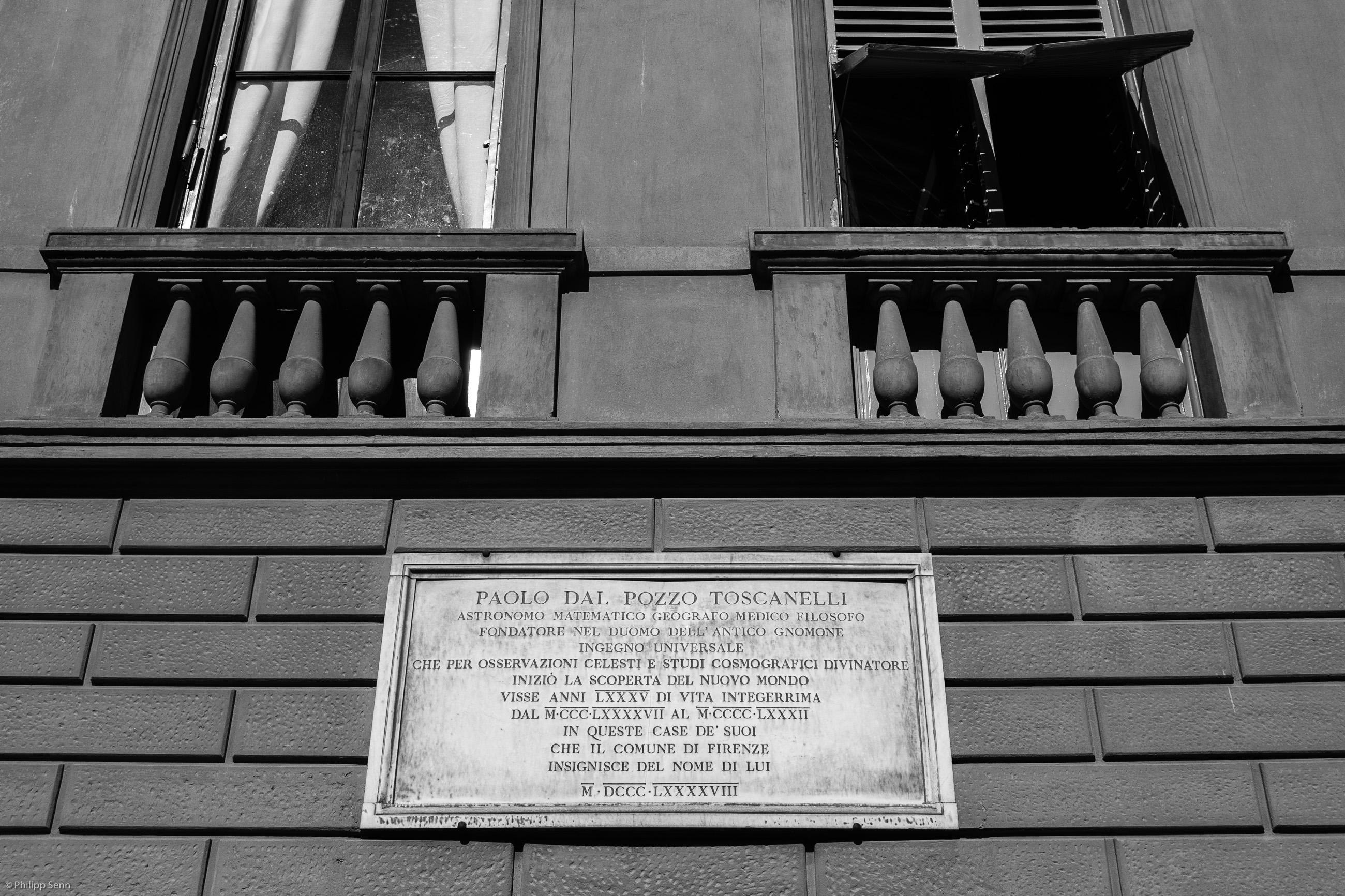 © Philipp Senn. Florenz. Piazza dei Pitti.